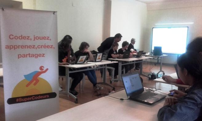 À Annot, le monde du numérique à portée des collégiens