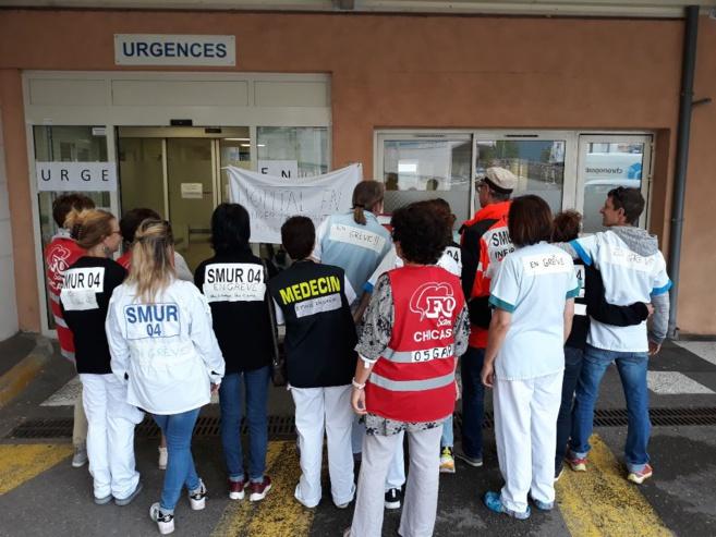 Malaise aux urgences de Sisteron