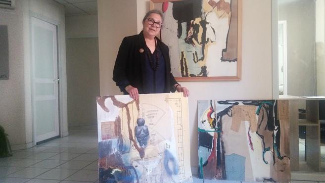 Myriam Librach expose à Fréquence Mistral