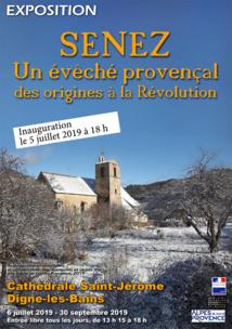 Histoires d'Archives - Exposition Cathédrale Saint Jérôme sur l'ancien évêché de Senez