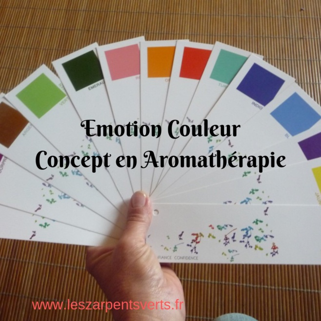 L'Aroma cosmétique couleur est source de bien-être et de beauté