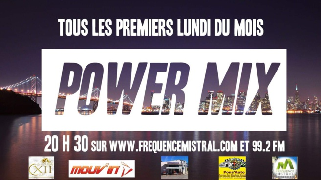 Power mix du lundi 8 juillet 2019 avec le Prim'Ose !