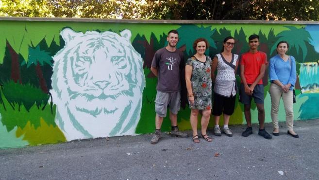 Des pokémons, un tigre et une cascade aux Serrets !