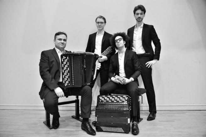 L'accordéon se refait une jeunesse avec le Quatuor Aeolina