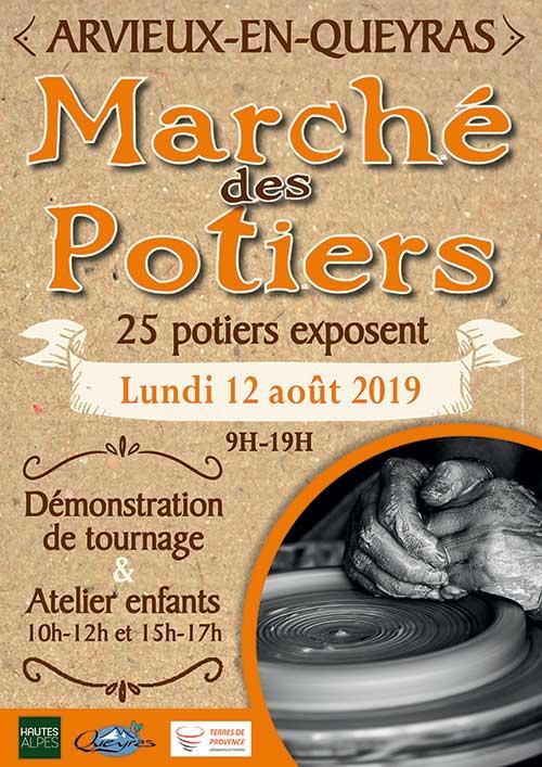 La 28ème année pour le marché d'Arvieux dans les Hautes-Alpes