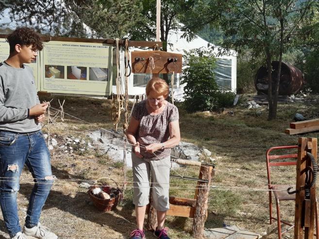 Des savoir-faire oubliés exposés à Villard-Saint-Pancrace