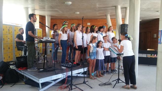 L'Ecole Internationale a fait sa rentrée en musique…
