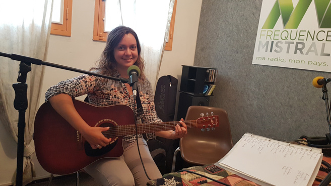 Pauline Sovekipeu musicienne itinérante
