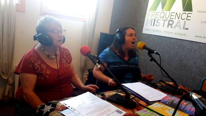 Monique Lefèvre et Sandrine Estève
