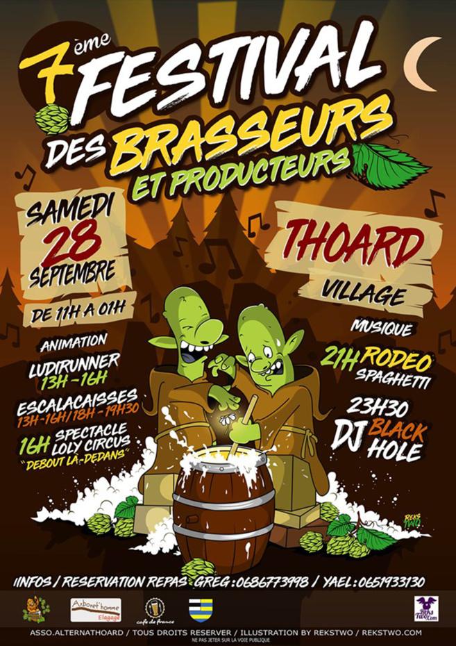 Festival des brasseurs à Thoard