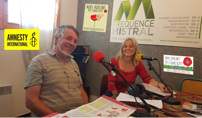 Régis Coulange et Marie-Claire Rulquin