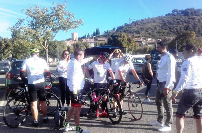 """La 4ème étape du """"Tour BPCO"""" reliait Riez à Digne la semaine dernière"""
