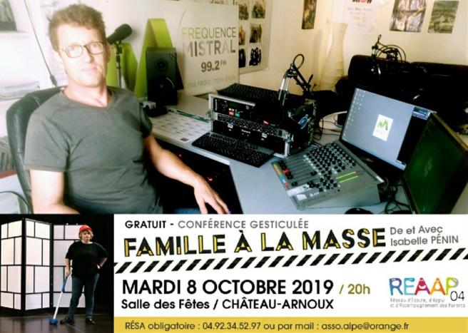 « La construction d'une famille, quel chantier ! » conférence gratuite ce soir à Château-Arnoux