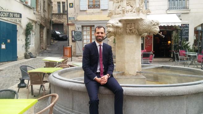 David Gehant candidat à Forcalquier