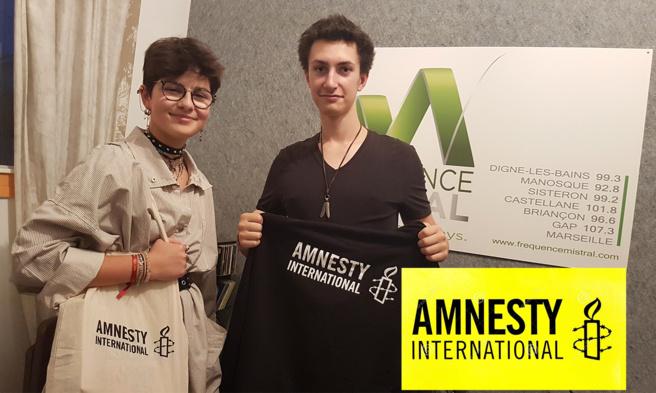 Ils animent l'antenne lycéenne d'Amnesty International à Digne