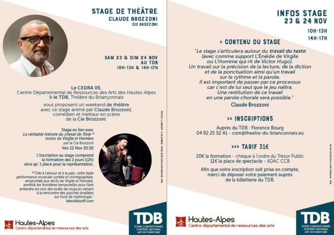 La véritable histoire du cheval du Troie par Claude Brozonni au TDB