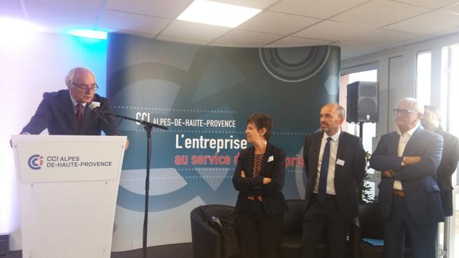 Le président de CCI France inaugure Durance 264