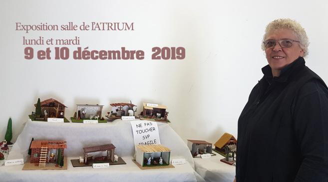 Une exposition de crèches à l'Atrium jusqu'à Mardi 10 décembre