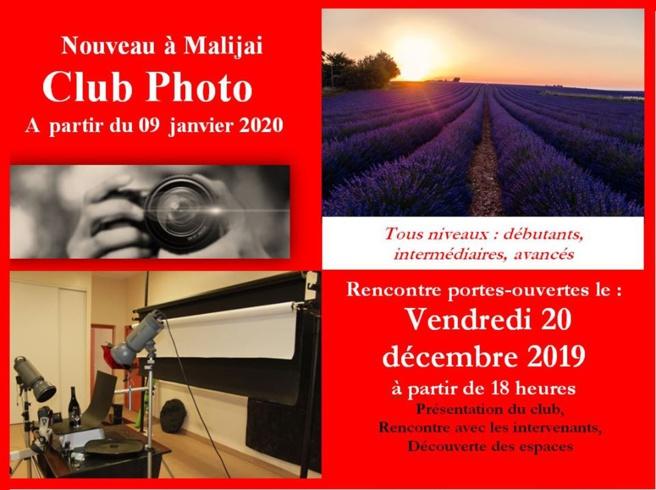 Un atelier photos à Malijai !