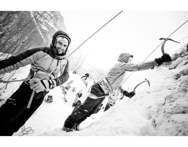 L'ice climbing revient à l'argentière la bessé !