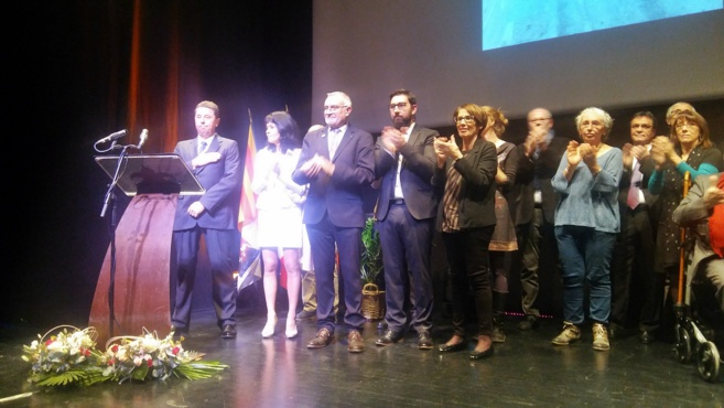 Dernière cérémonie des vœux pour Gérard Avril à Forcalquier
