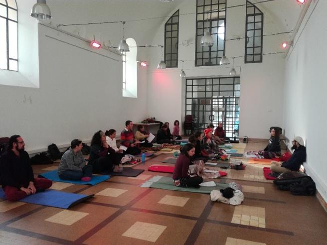 Atelier voix et mantras à la chapelle des pénitents à Reillanne