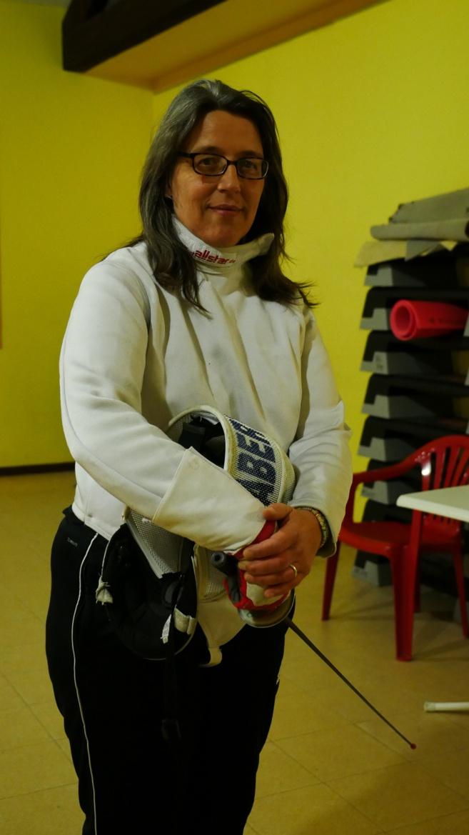 Stéphanie Chabert, femme et maitre d'armes (1)
