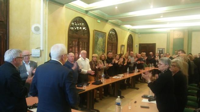 Un dernier conseil municipal pour Bernard Jeanmet-Péralta