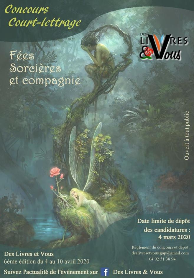 Concours Court-Lettrage Des Livres & Vous - Fées, Sorcières et Compagnie...