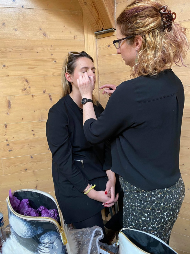 A la rencontre d'une conseillère make-up
