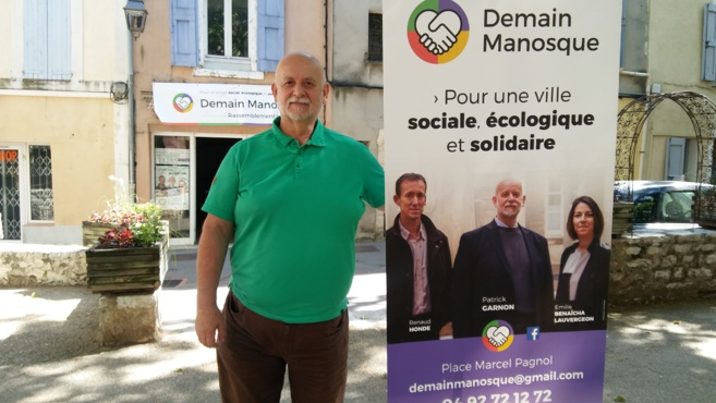 Municipales à Manosque : l'interview de Patrick Garnon