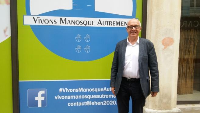 Municipales à Manosque : l'interview d'Armel Le Hen