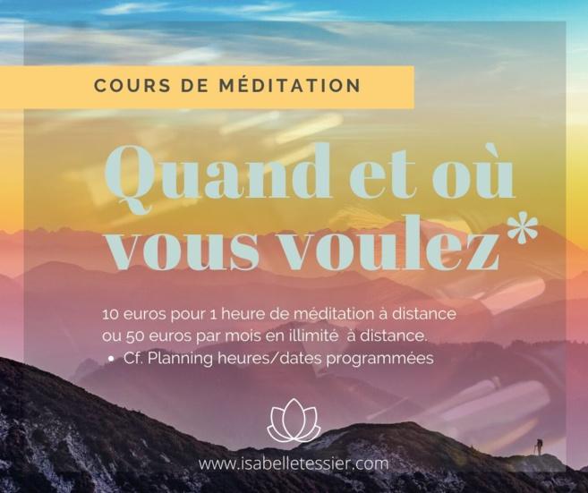 Isabelle Tessier enseignante en méditation