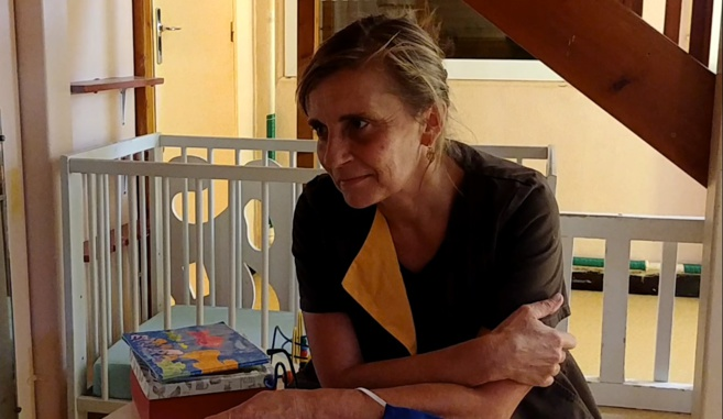 """Florence Guirardi, responsable de la créche """" Les petits plus """" à Saint Auban"""