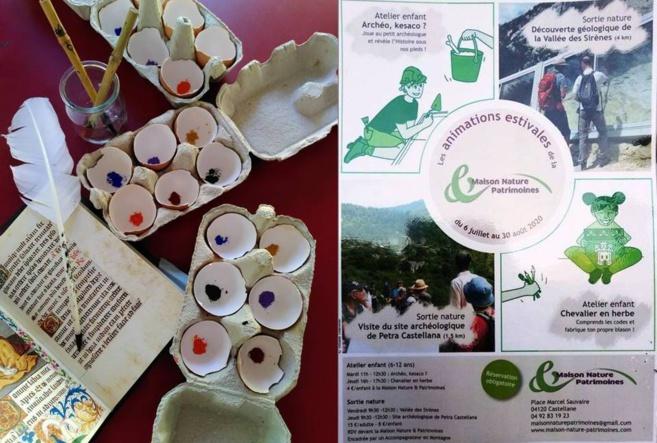 A Castellane, les enfants sur les traces du Moyen-âge avec la Maison Nature & Patrimoines