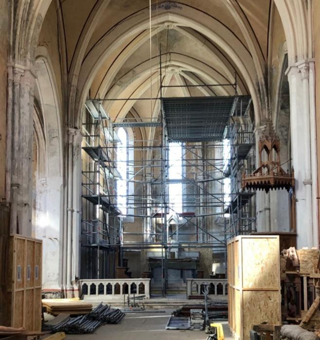 Une association restaure une église des Hautes-Alpes