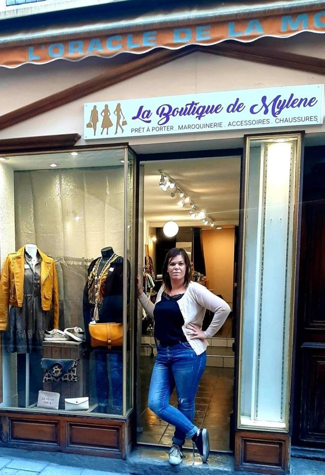 La boutique éphémère de Mylène