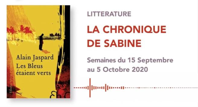 La Chronique de Sabine du 19 Septembre 2020