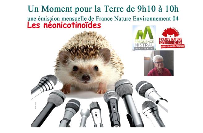 Un moment pour la terre avec France Nature Environnement - Les néonicotinoïdes
