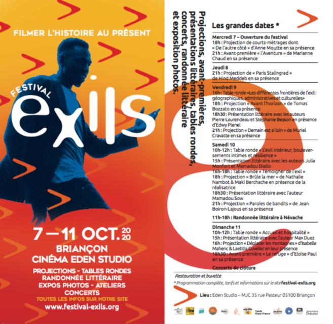Festival de films EXILS à Briançon