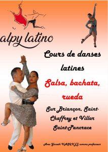 Venez danser avec l'association ALP'Y LATINO !