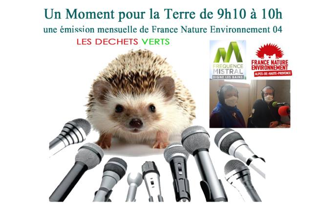 Un moment pour la terre avec France Nature Environnement - Les déchets verts