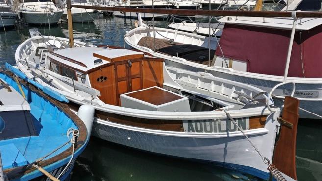 Un charpentier de marine à Marseille
