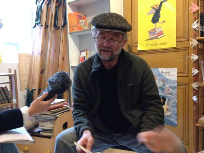 Samuel Autexier de la librairie Regain