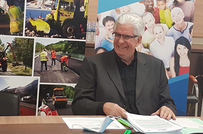 """""""Retrouver la joie de vivre"""" : les voeux de René Massette, Président du Conseil Départemental 04"""
