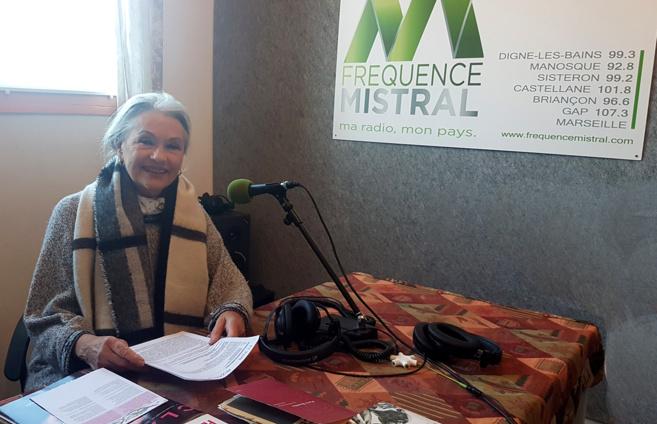 Jacqueline Hennegrave Responsable de l'antenne de Digne les bains Femmes Solidaires