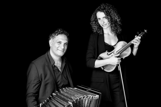 Un concert inédit bandonéon et violon par le duo Condello-Villena