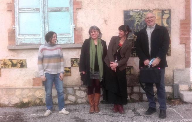 Angélique Panafieu, Karin Abbas, Morgane Verbe et Jean-Jacques Corre