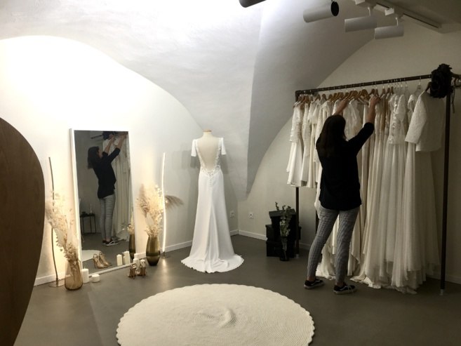 Des robes de Mariées à Votre image avec la Créatrice Lolette