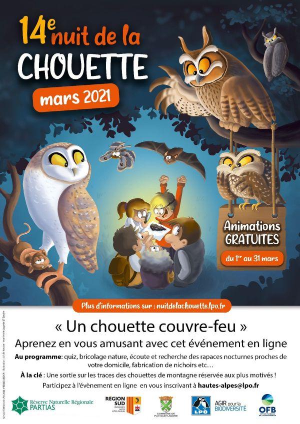 Fêtons tous ensemble la 14ème Nuit de la Chouette !